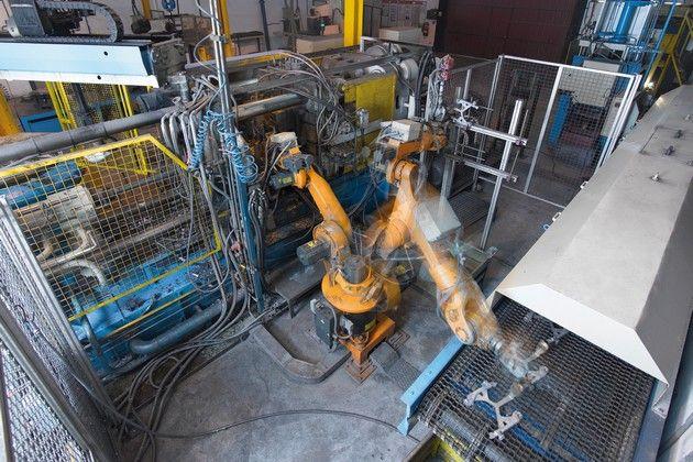 Роботизированный производственные процессы